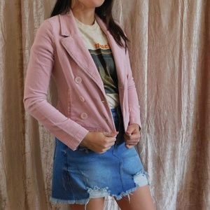 Copper Key Pink Corduroy Jacket